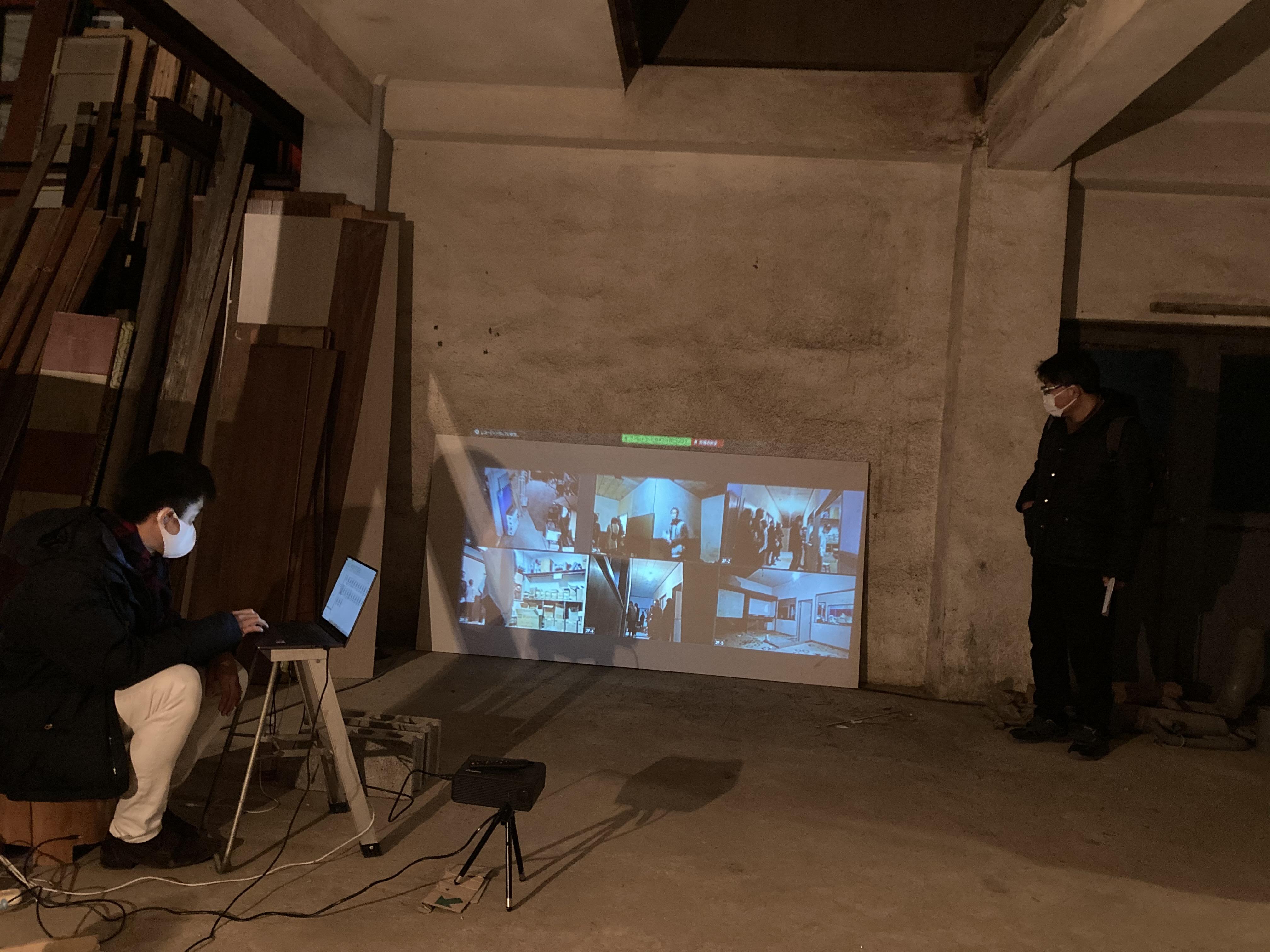 写真3:LACユーザーがかかわった、古い倉庫での演劇プログラム
