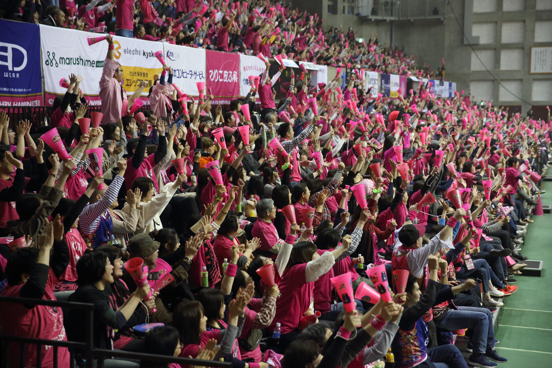 図2:試合会場の雰囲気