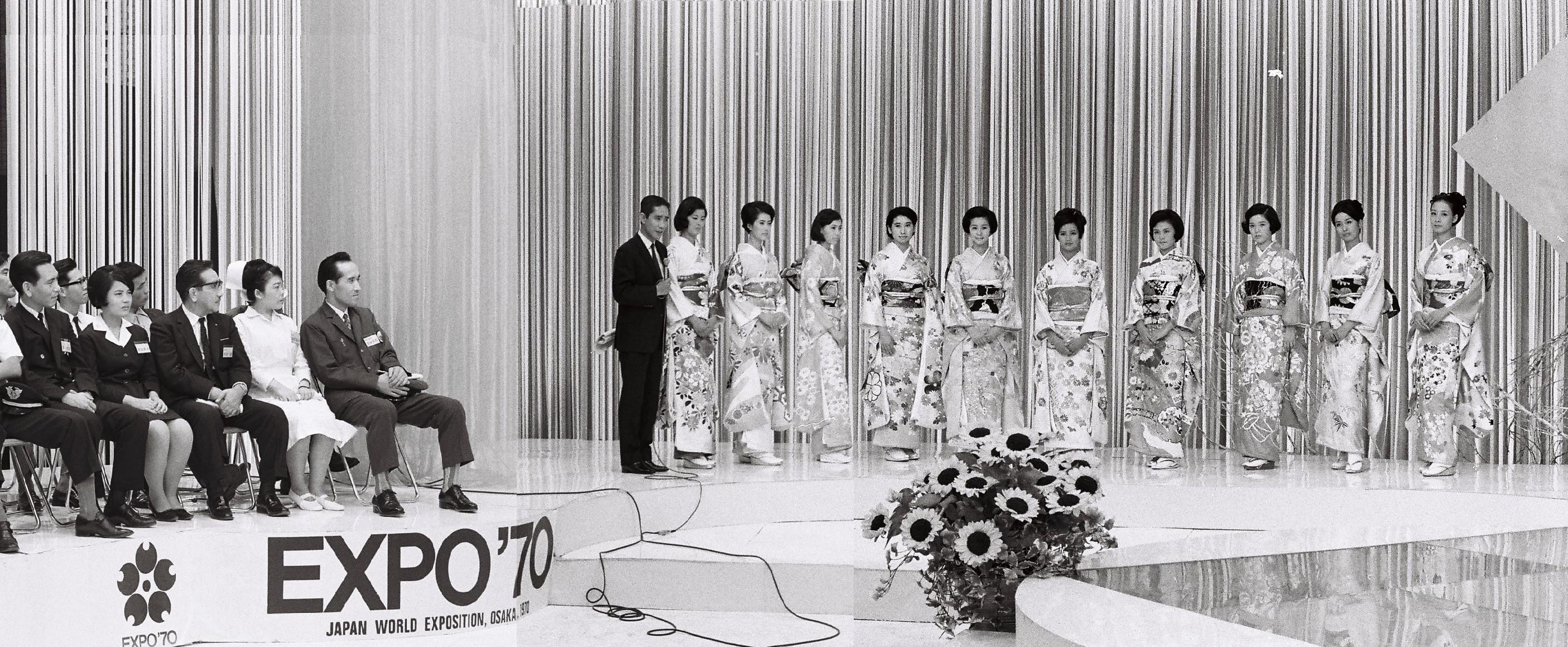 復活第一回ミス日本グランプリ大会1968年