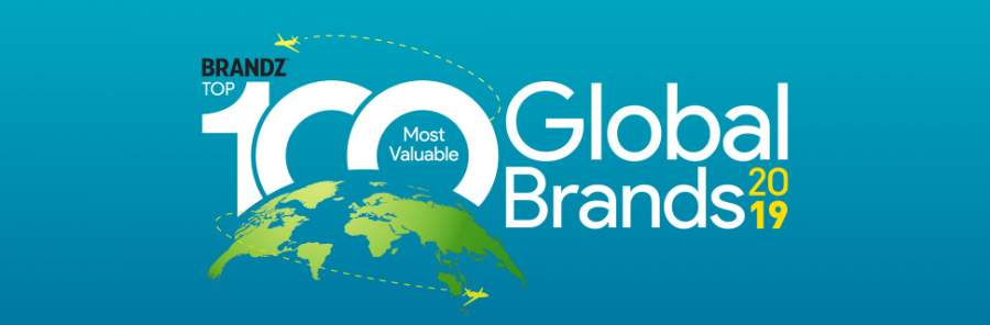 カンター、BrandZ(ブランジー)2019:世界で最も価値のあるブランドTop100を発表
